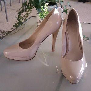 ALDO patent leather platform heels, size 7.5 (38)